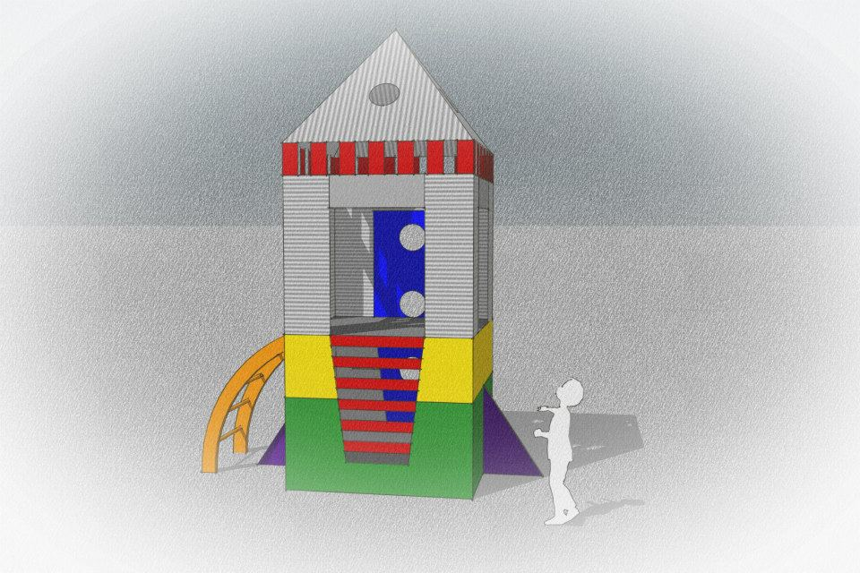 Woodwork Rocket Ship Playhouse Plans Pdf Plans