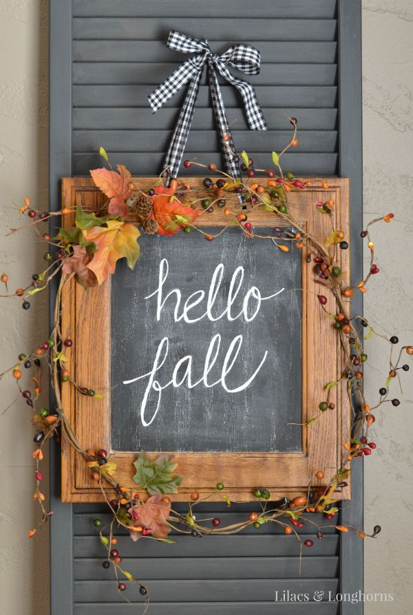 Hello-Fall-wreath-from-an-old-frame